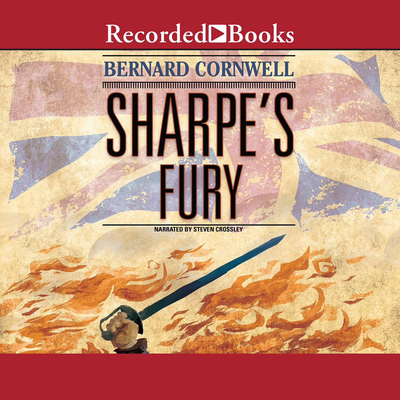 Printable Sharpe's Fury: Richard Sharpe and the Battle of Barrosa, March 1811 Audiobook Cover Art
