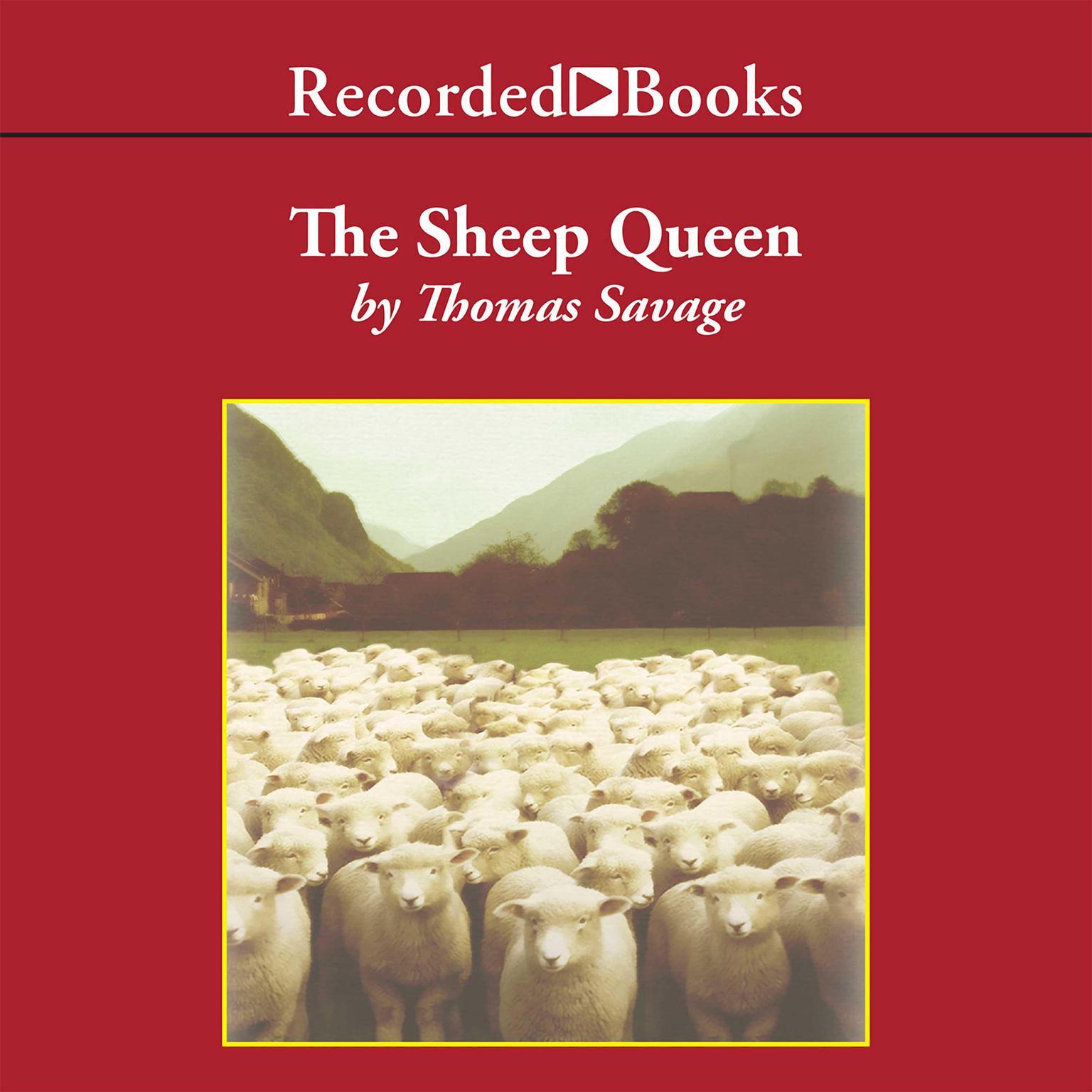 Printable The Sheep Queen: A Novel Audiobook Cover Art