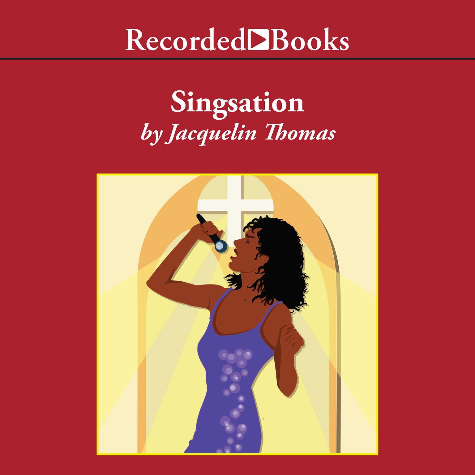 Printable Singsation Audiobook Cover Art
