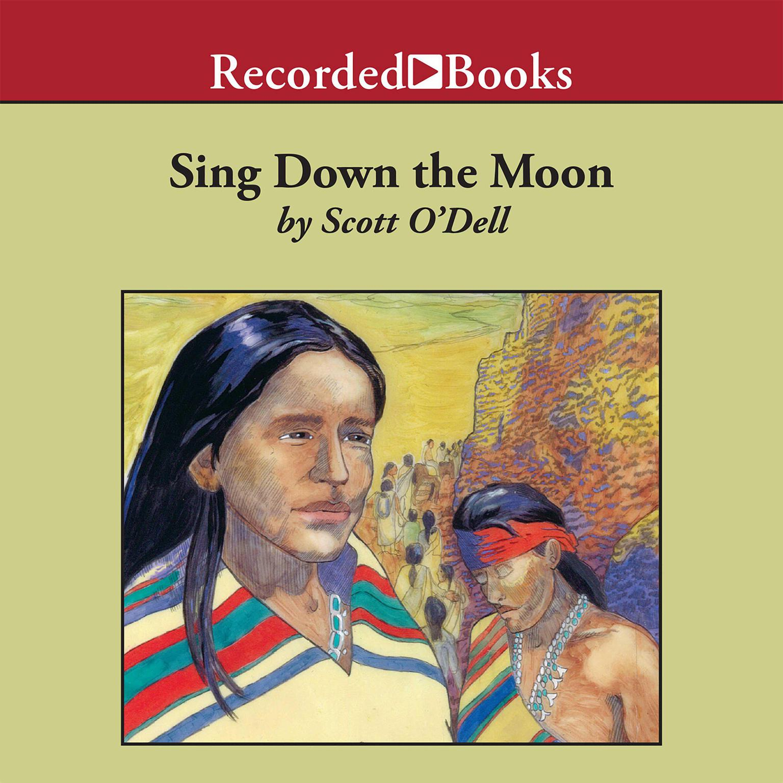 Printable Sing Down the Moon Audiobook Cover Art