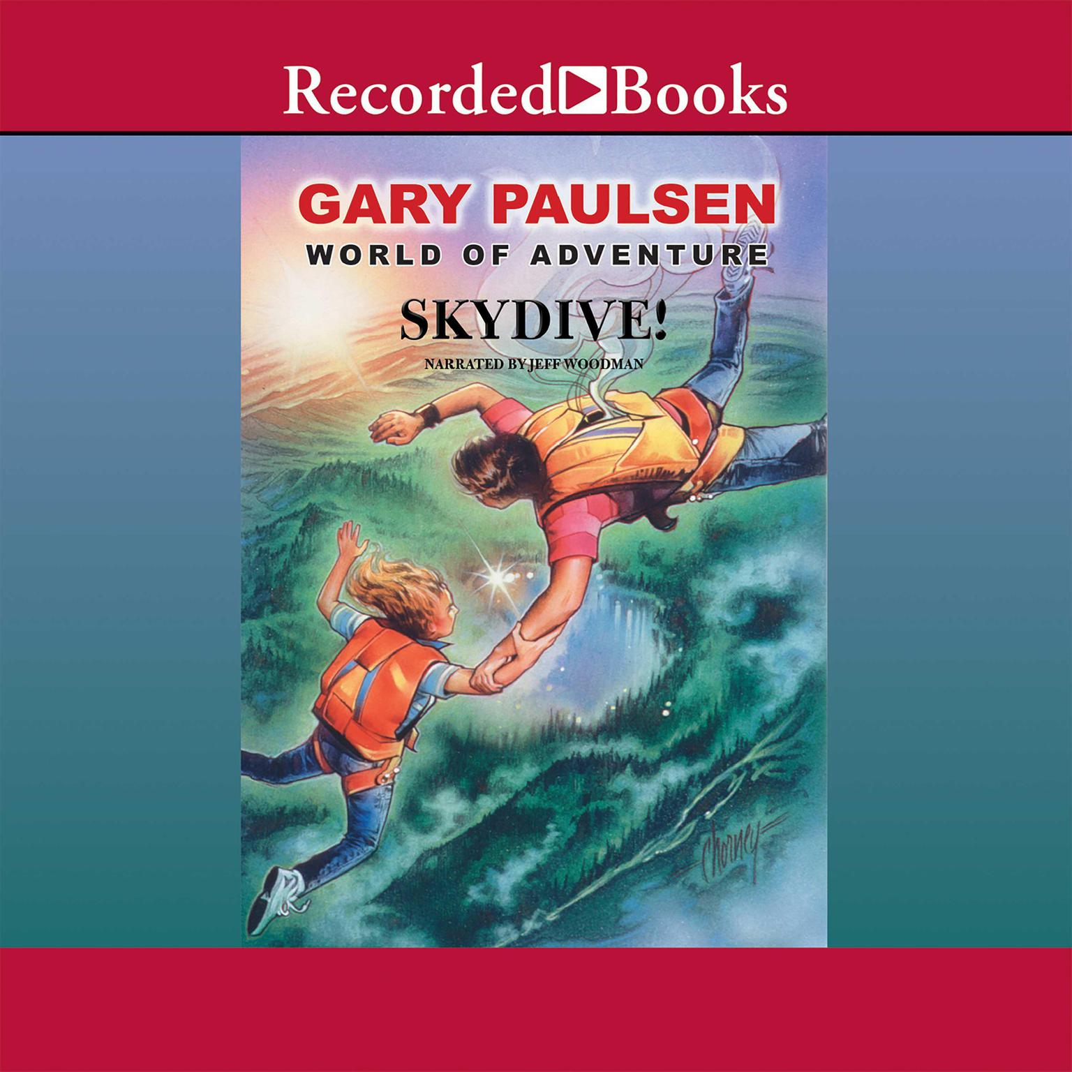 Printable Skydive! Audiobook Cover Art