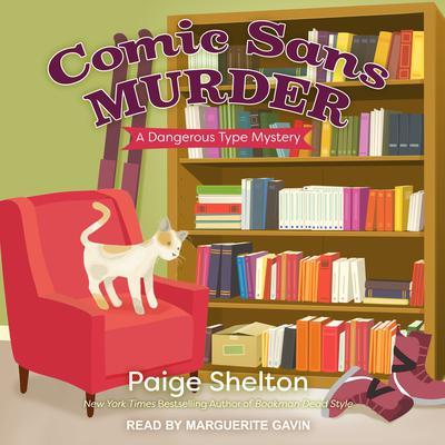Comic Sans Murder Audiobook, by Paige Shelton