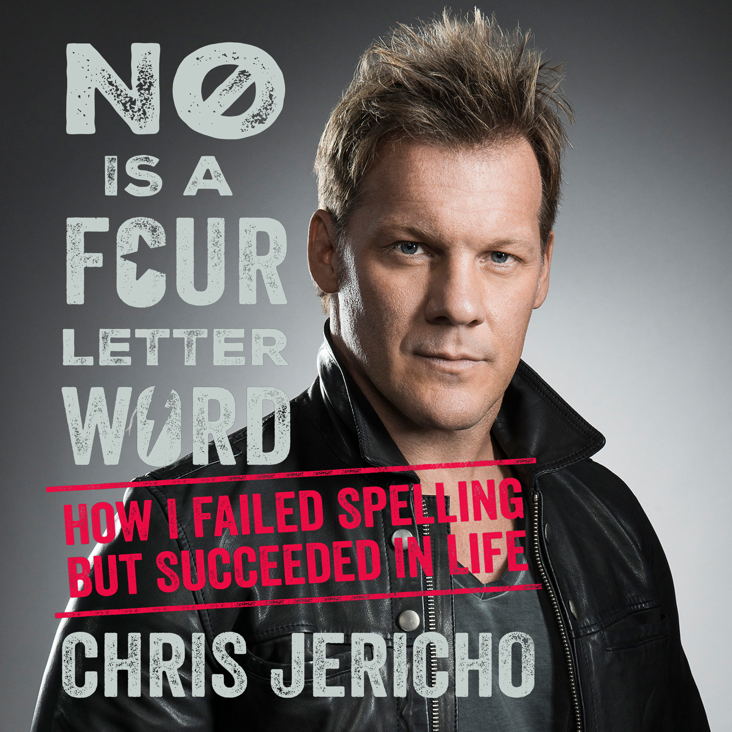 Printable No is a four-letter word: How I Failed Spelling but Succeeded in Life Audiobook Cover Art