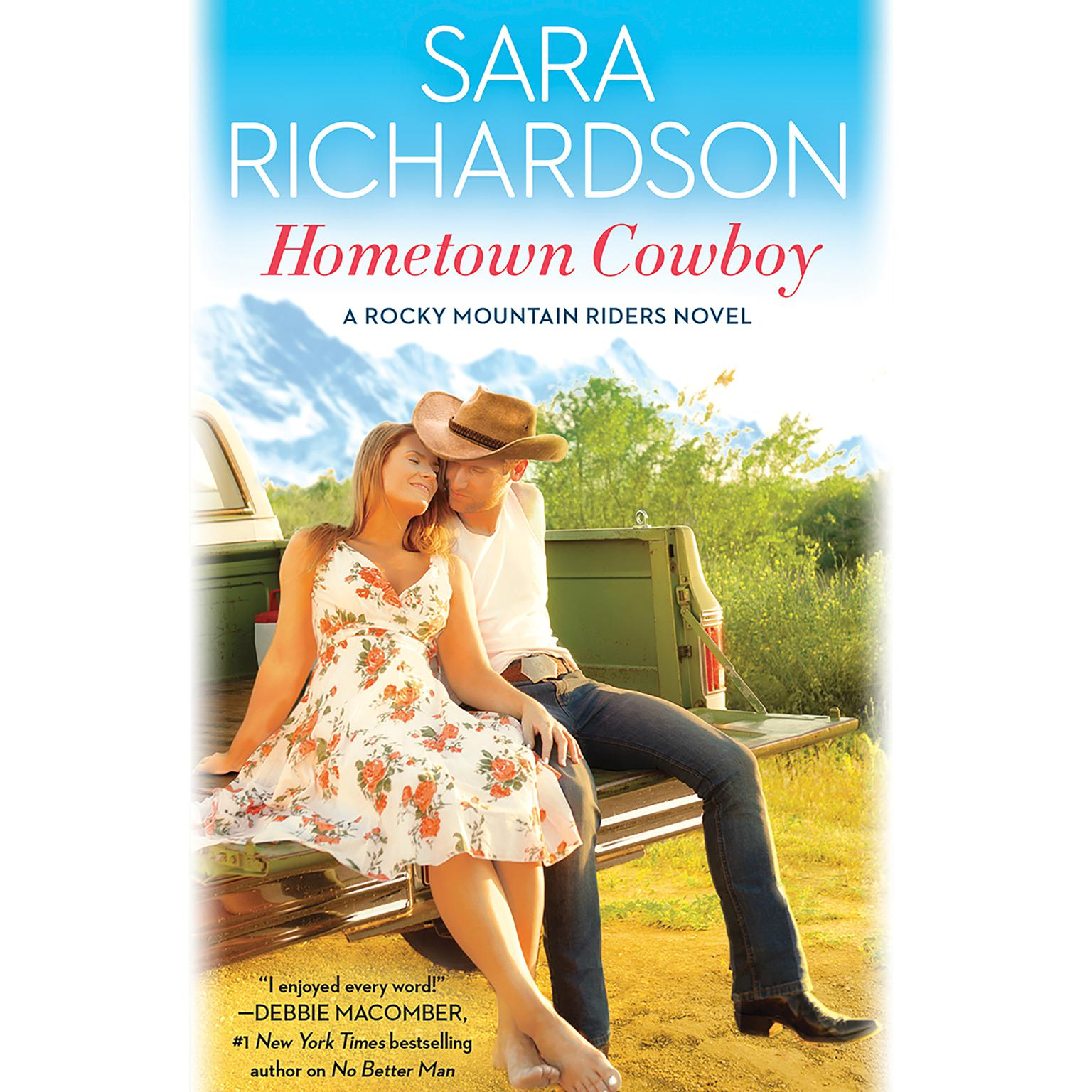 Printable Hometown Cowboy Audiobook Cover Art