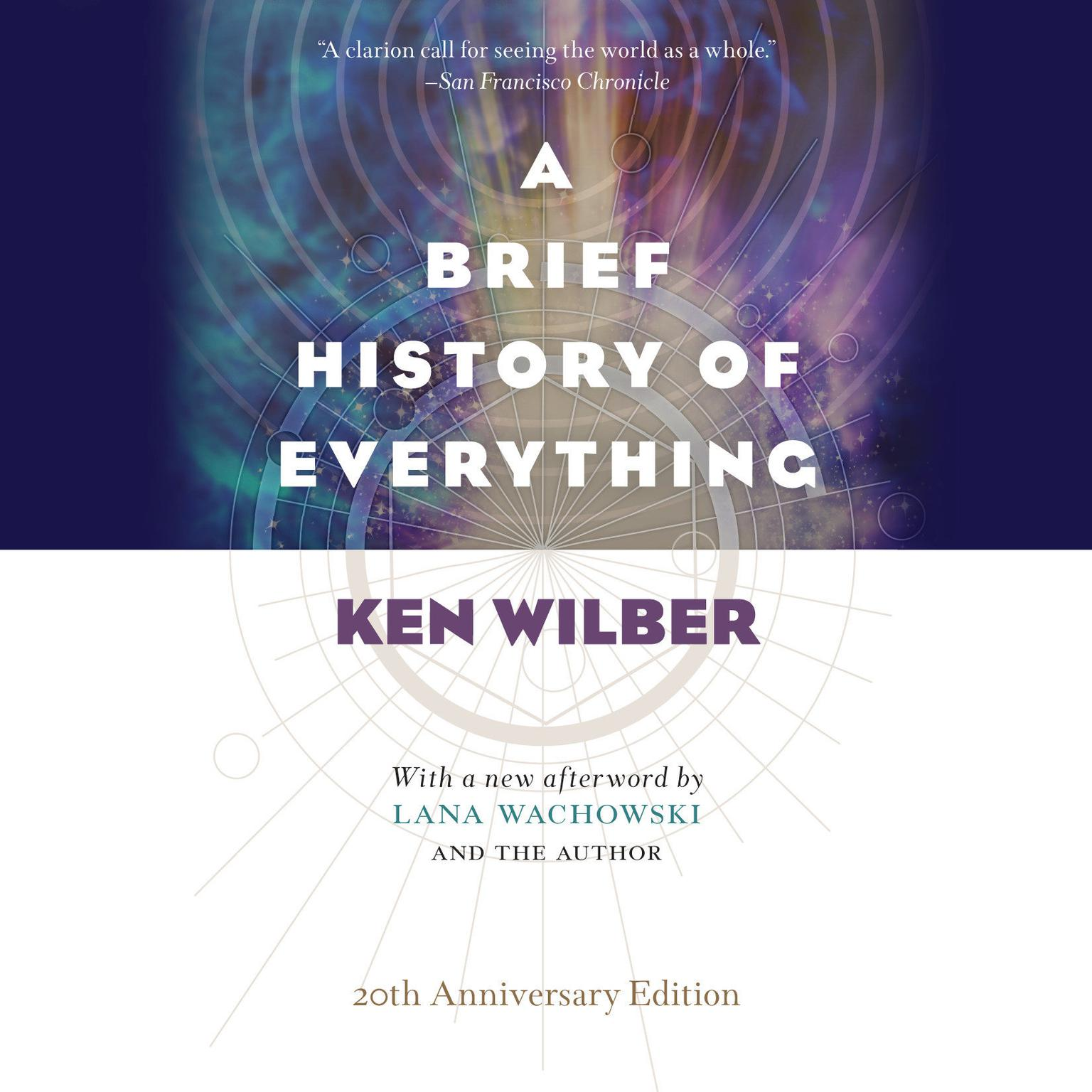 Printable A Brief History of Everything Audiobook Cover Art