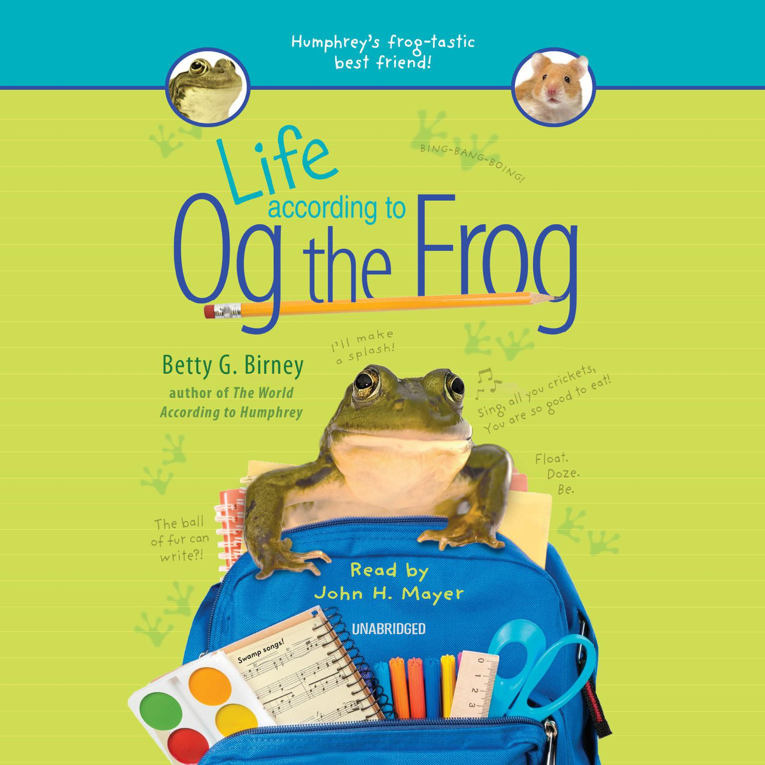 Life According to Og the Frog Audiobook, by Betty G. Birney