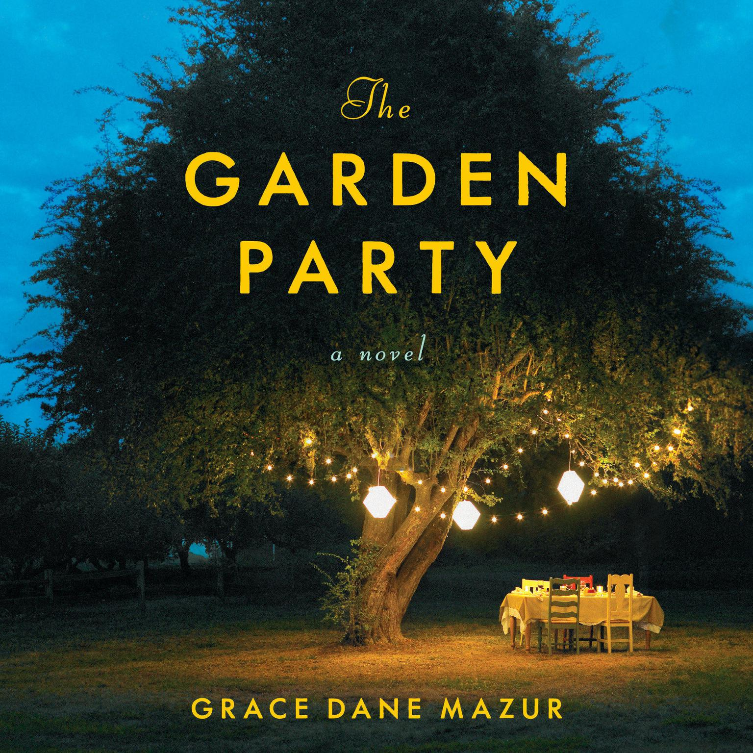 Printable The Garden Party: A Novel Audiobook Cover Art