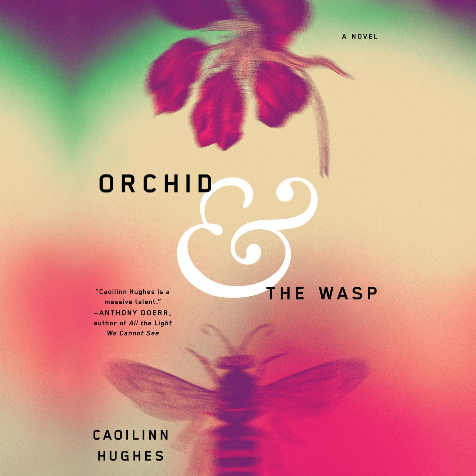 Printable Orchid and the Wasp: A Novel Audiobook Cover Art