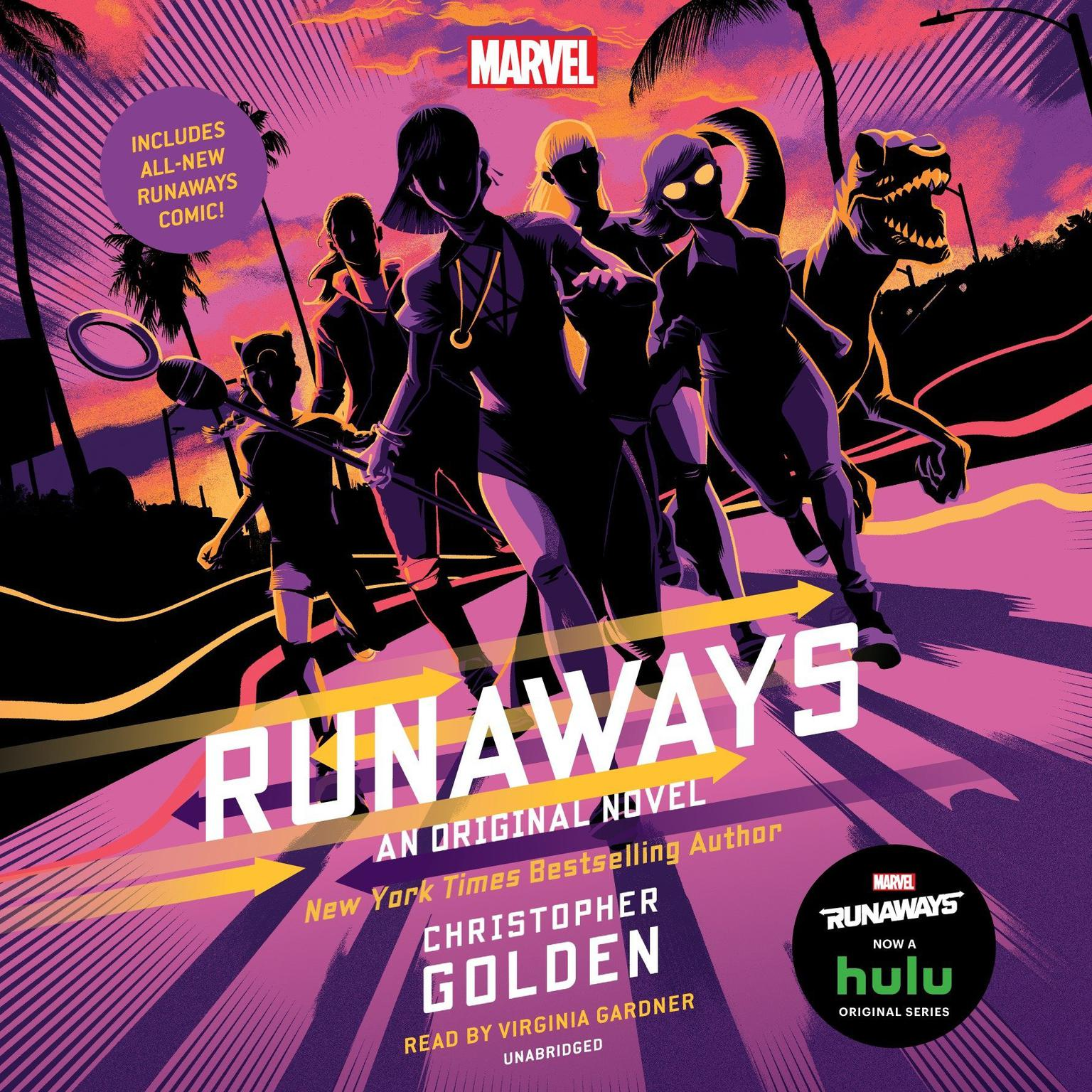 Printable Runaways: An Original Novel Audiobook Cover Art