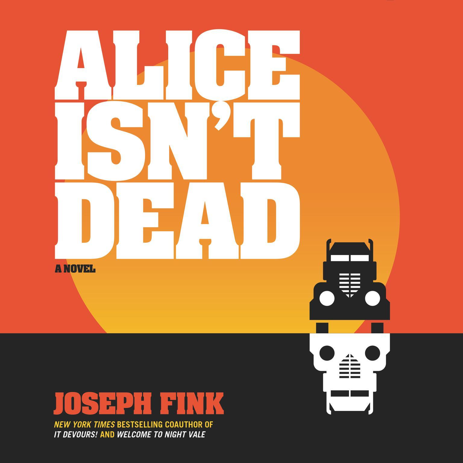 Printable Alice Isn't Dead: A Novel Audiobook Cover Art