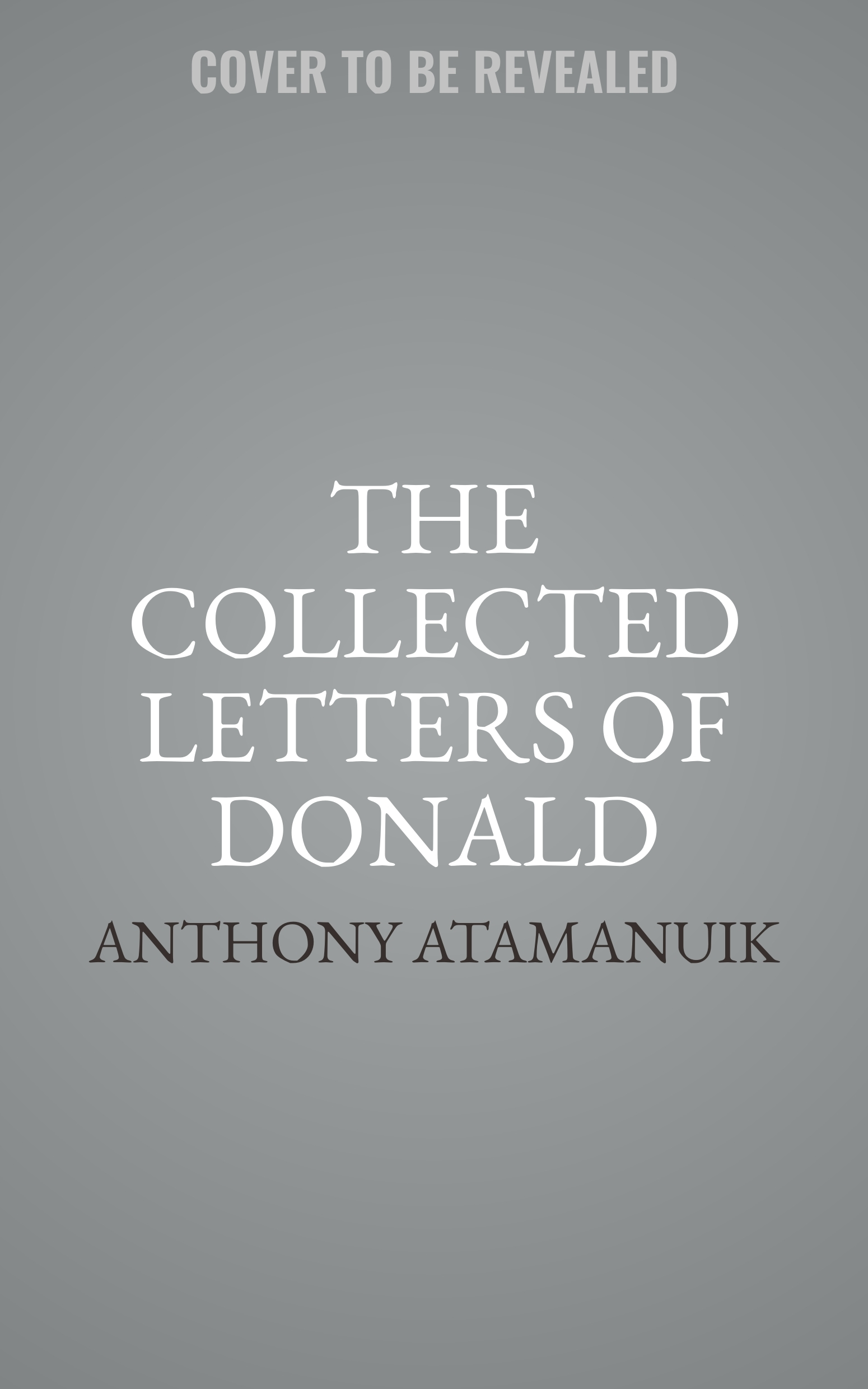 Printable The Collected Letters of Donald Trump Audiobook Cover Art