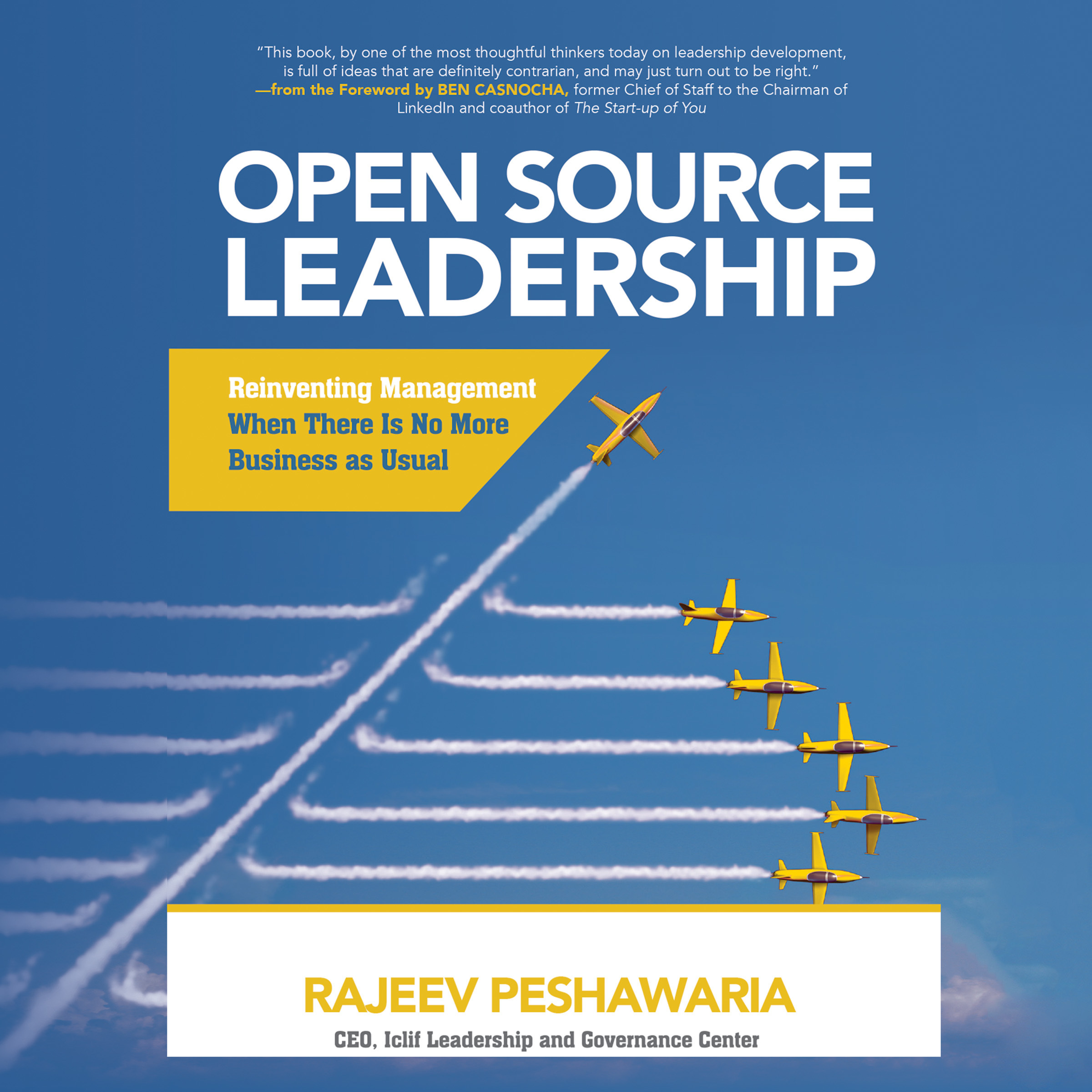 Printable Open Source Leadership: Reinventing Management When There Is No More Business as Usual Audiobook Cover Art