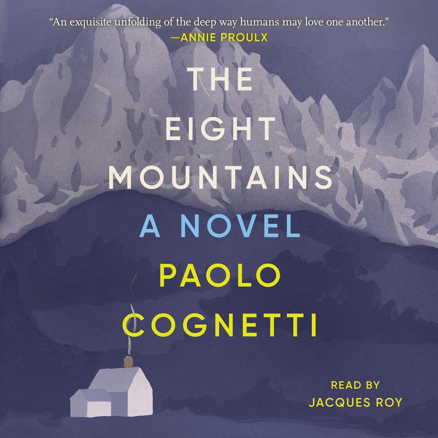 Printable The Eight Mountains: A Novel Audiobook Cover Art