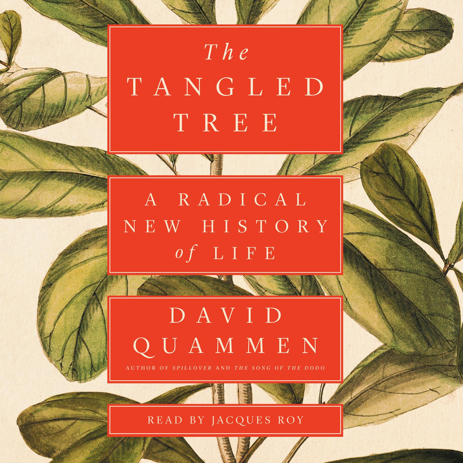 Printable The Tangled Tree: A Radical New History of Life Audiobook Cover Art