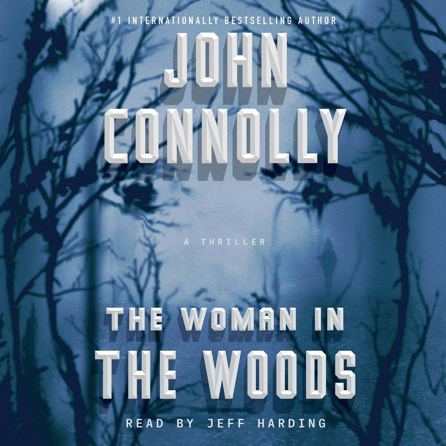 Printable The Woman in the Woods: A Charlie Parker Thriller Audiobook Cover Art