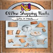 Offline Shopping Hacks: 15 Simple Practical Hacks to Save Money Shopping Offline Audiobook, by Life 'n' Hack