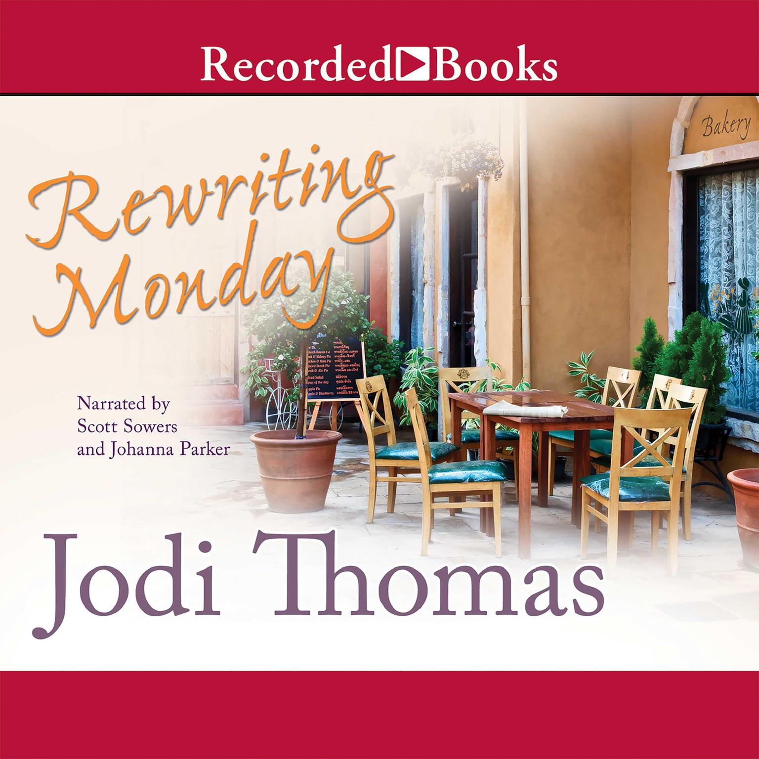 Printable Rewriting Monday Audiobook Cover Art