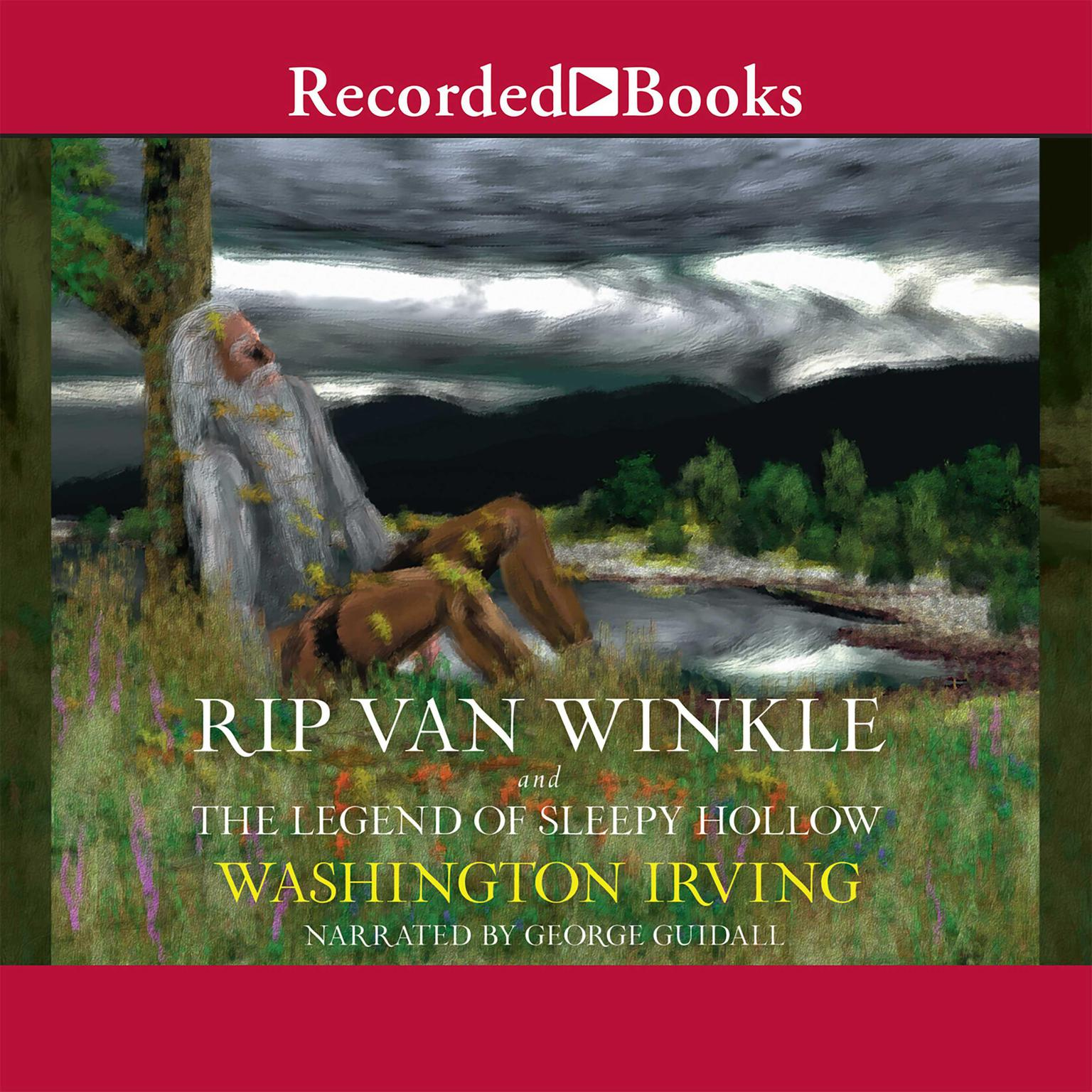 Printable Rip Van Winkle and the Legend of Sleepy Hollow Audiobook Cover Art