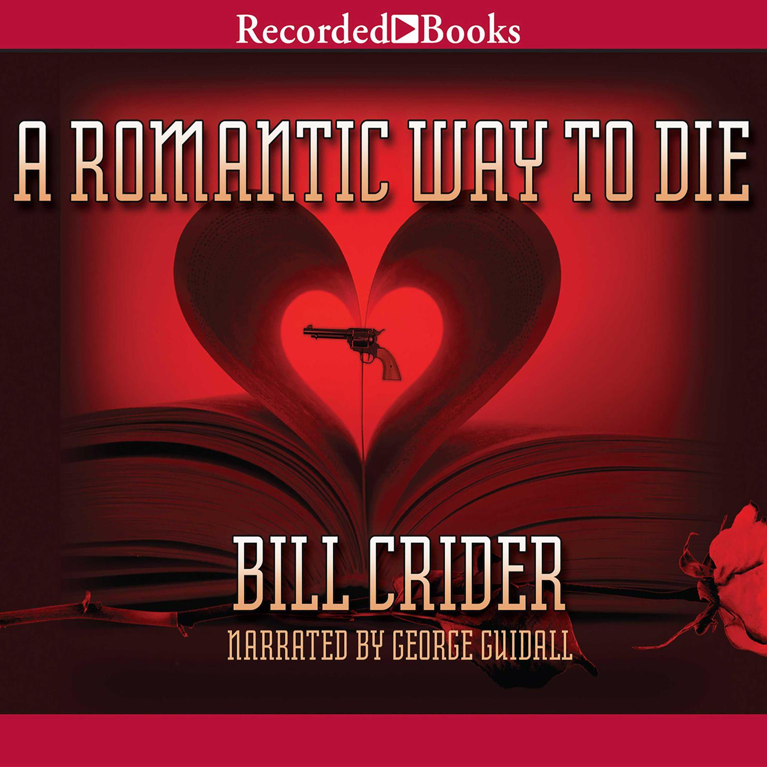 Printable A Romantic Way to Die Audiobook Cover Art