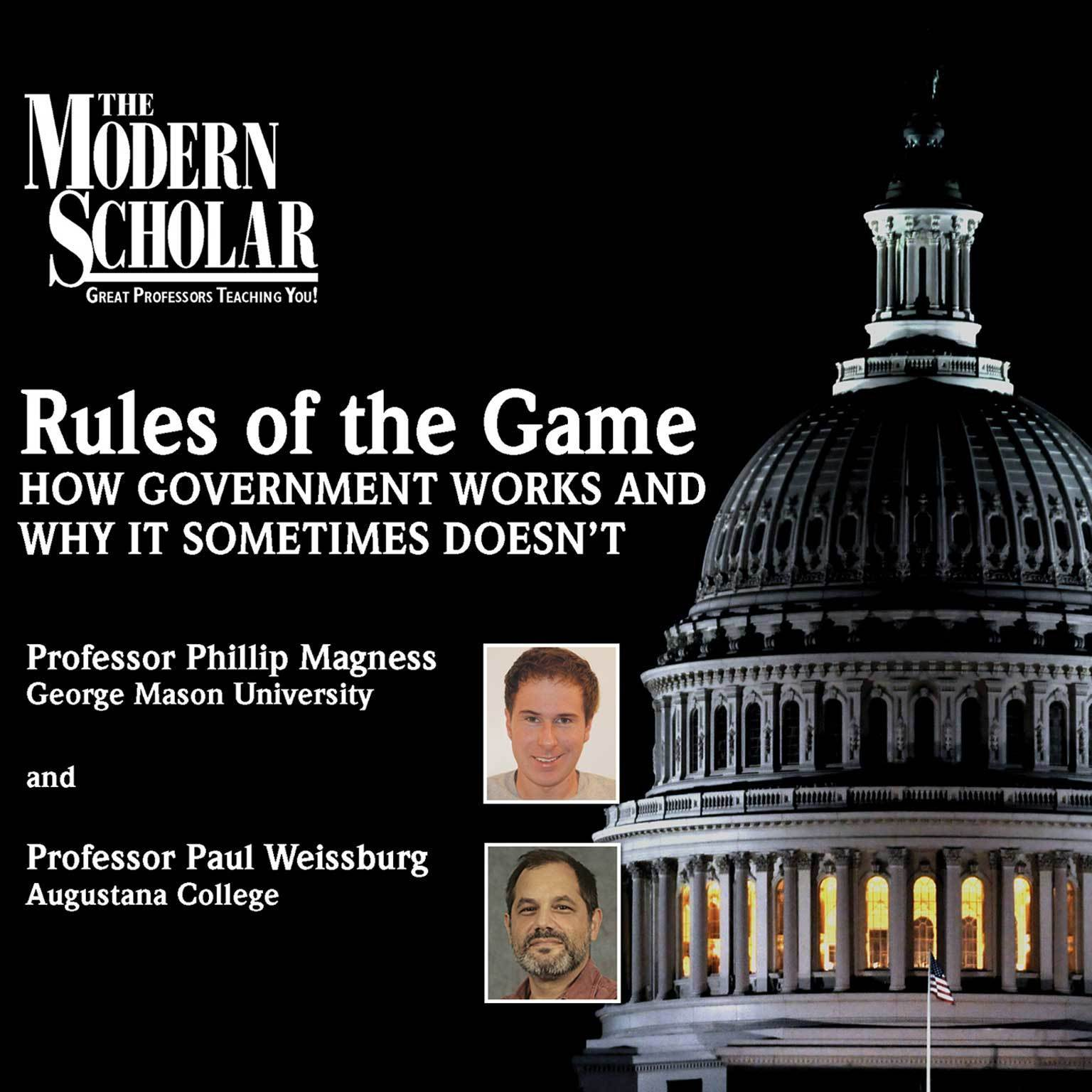 Printable Rules of the Game: How Government Works and Why It Sometimes Doesn't Audiobook Cover Art