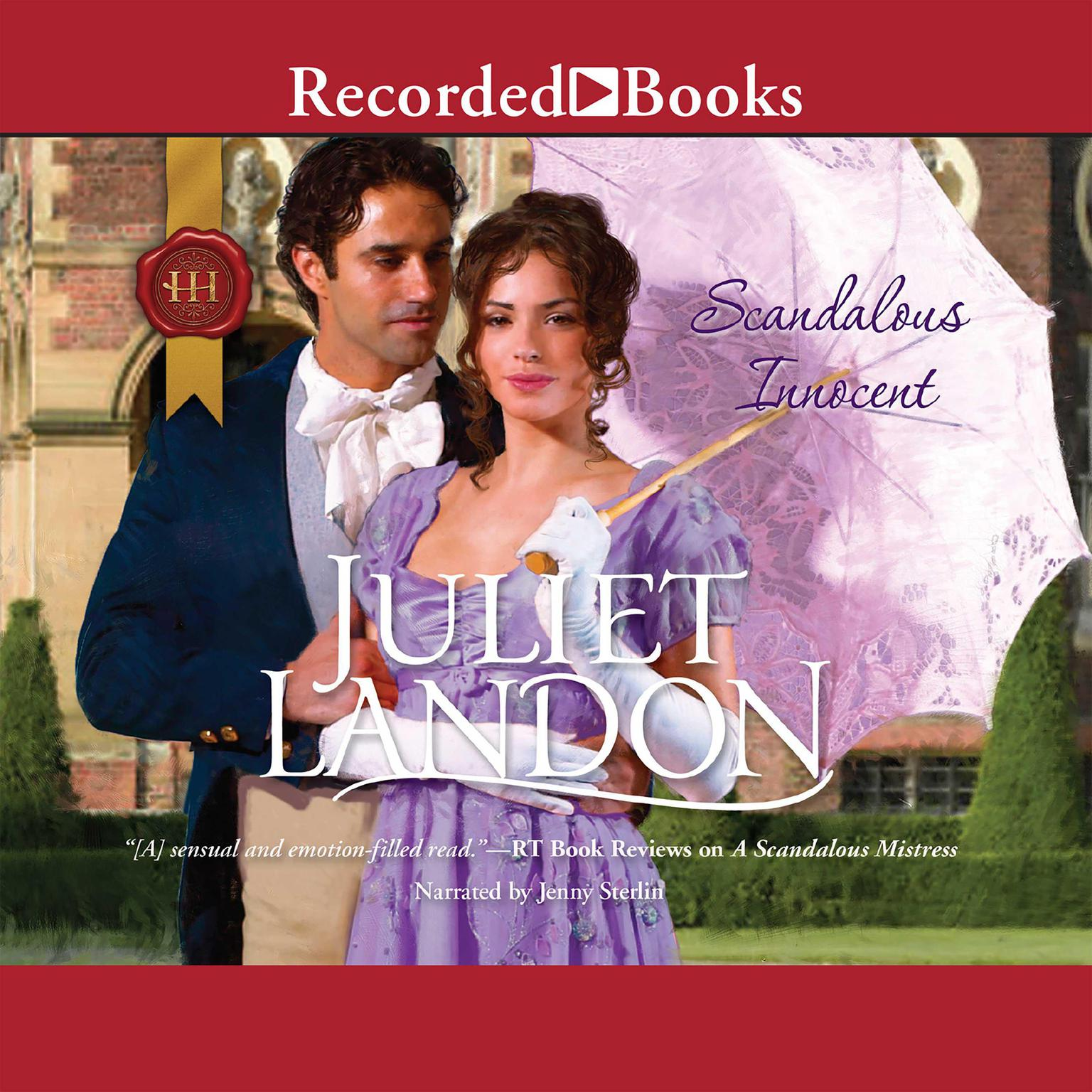 Printable Scandalous Innocent Audiobook Cover Art