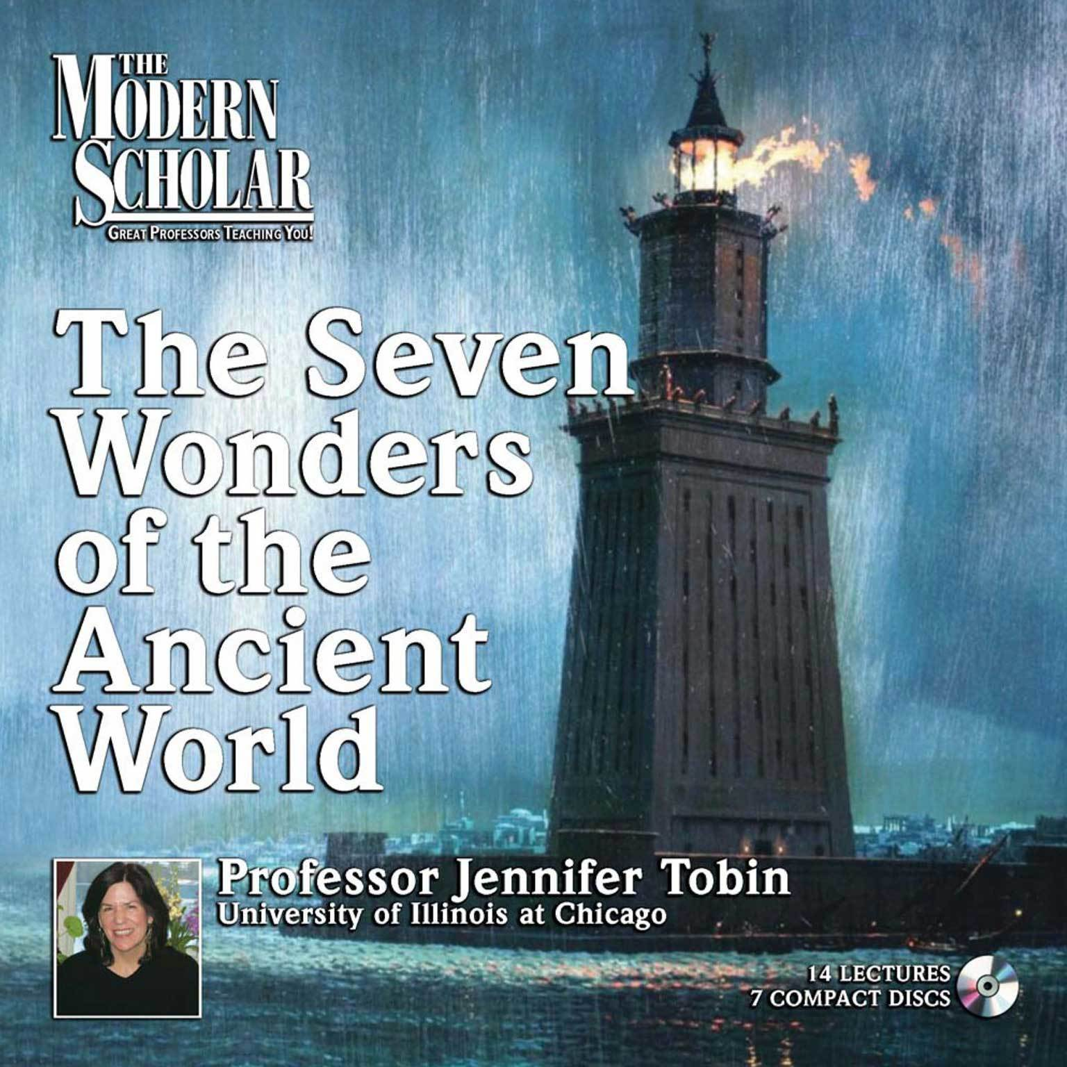 Printable Seven Wonders of the Ancient World Audiobook Cover Art