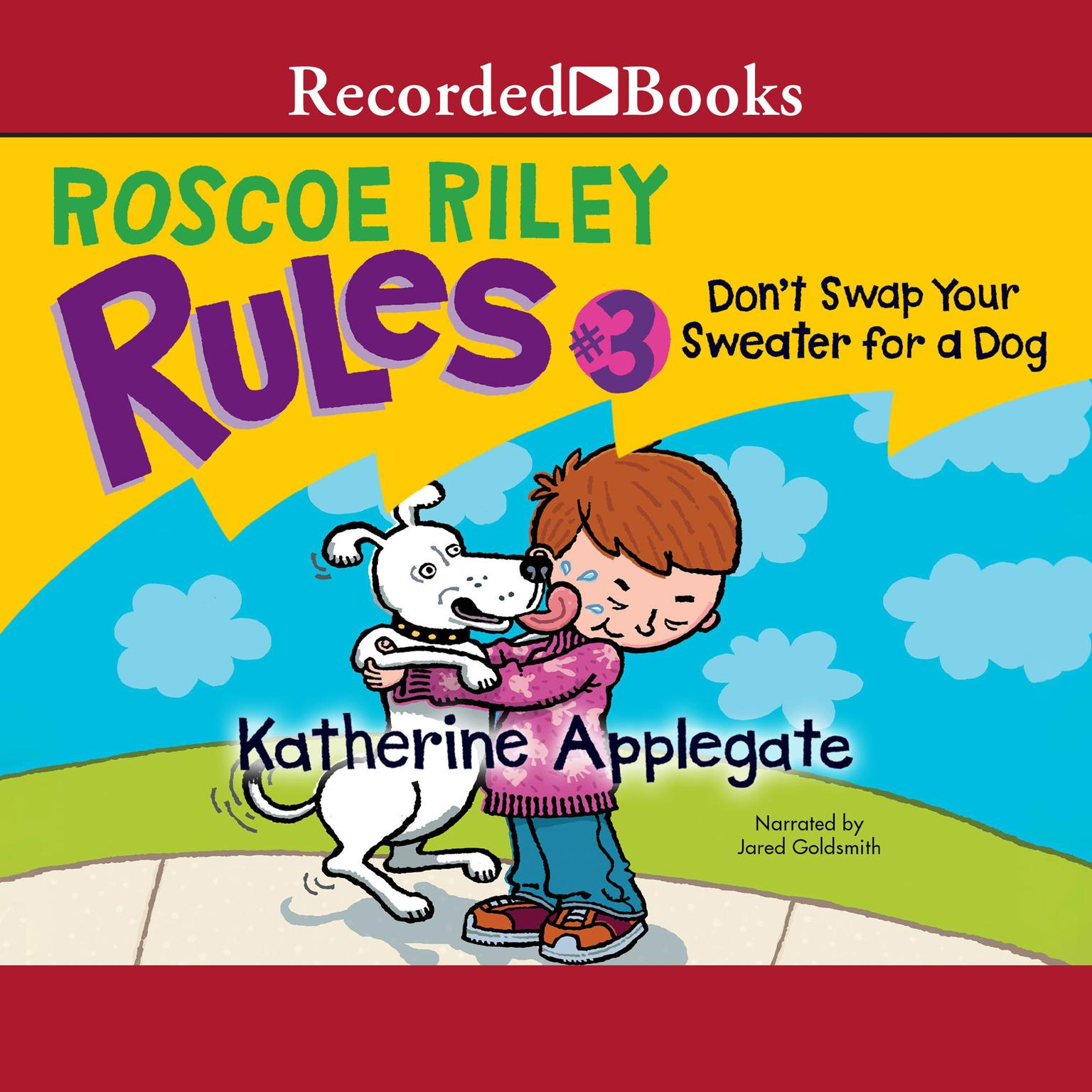 Printable Don't Swap Your Sweater for a Dog Audiobook Cover Art
