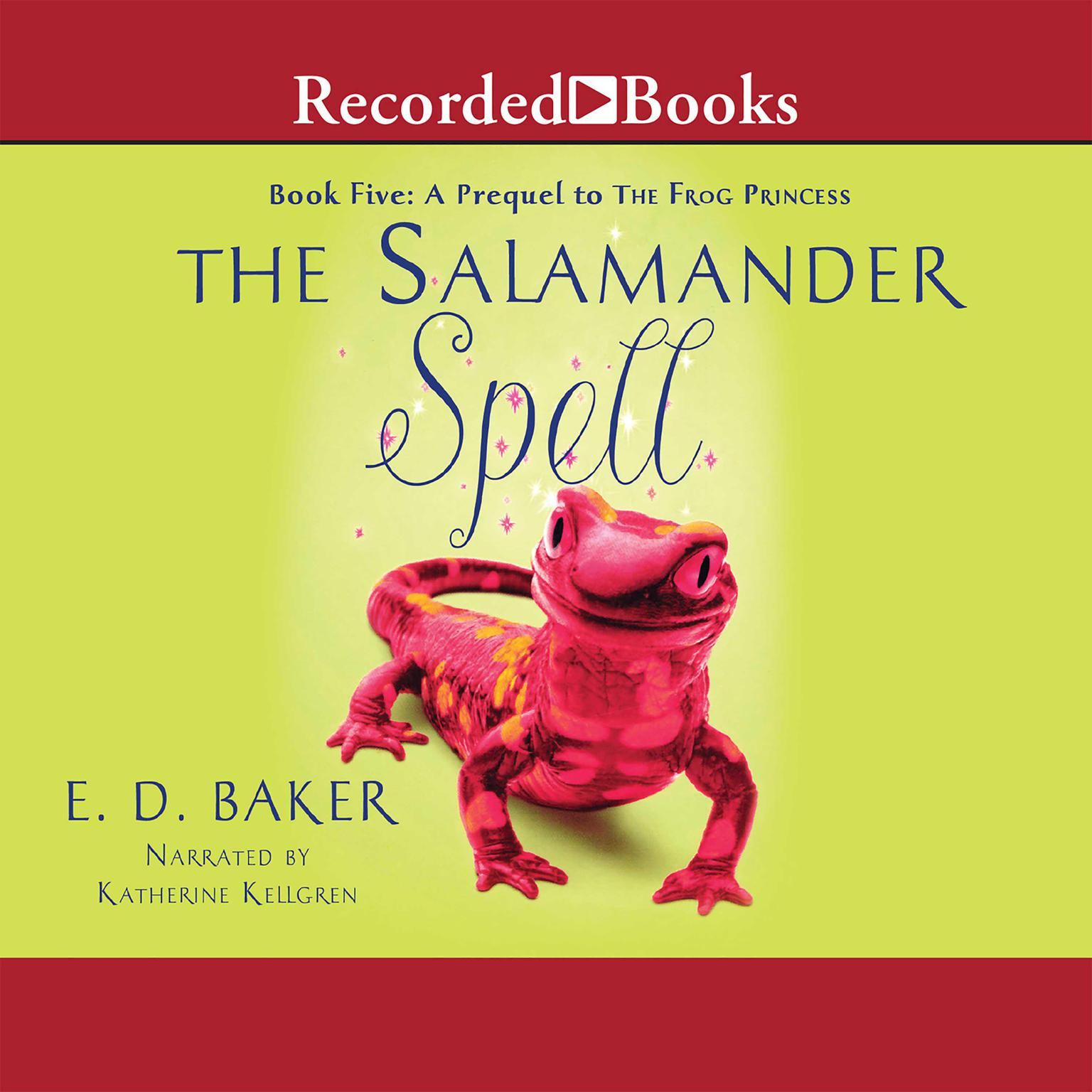 Printable The Salamander Spell Audiobook Cover Art