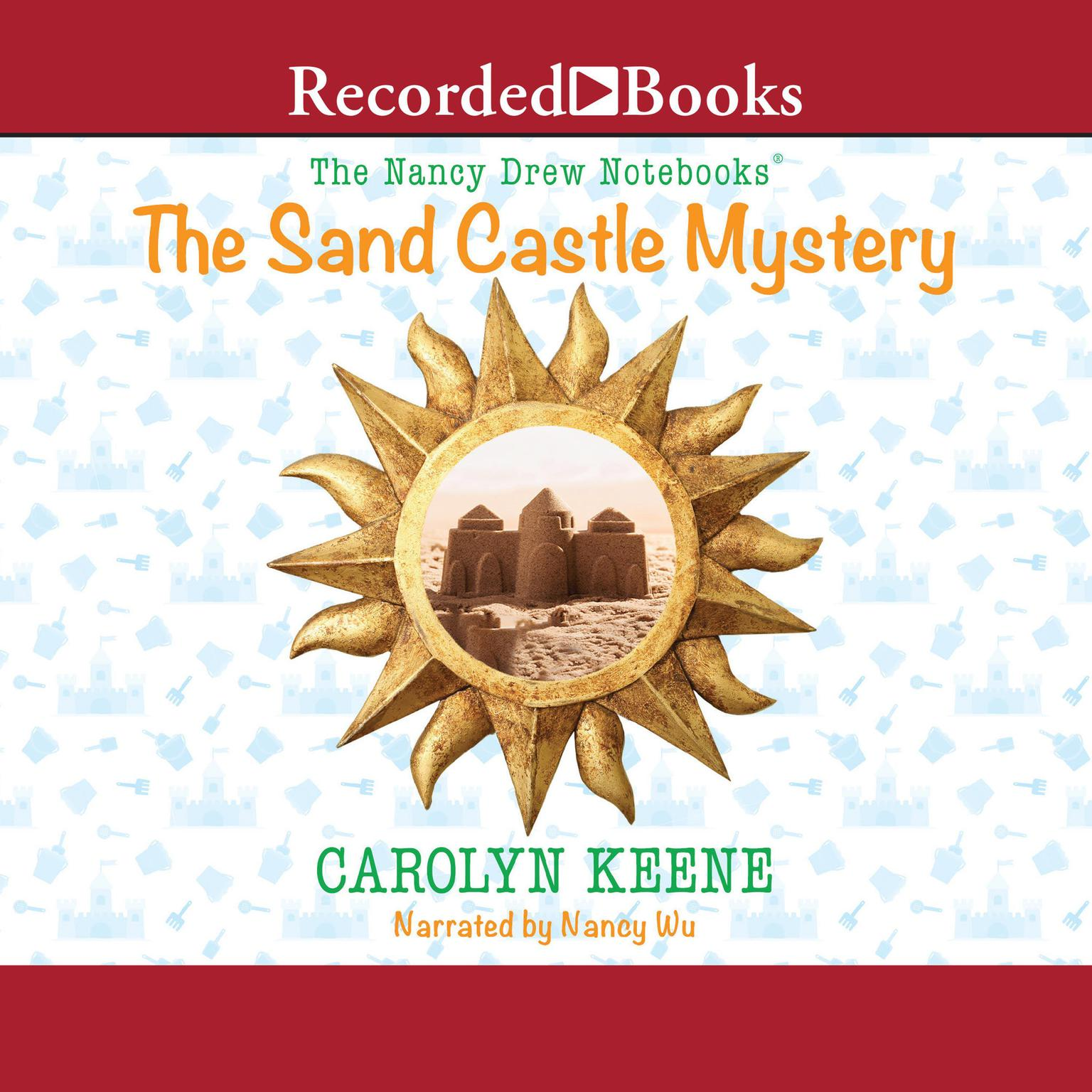 Printable The Sand Castle Mystery Audiobook Cover Art