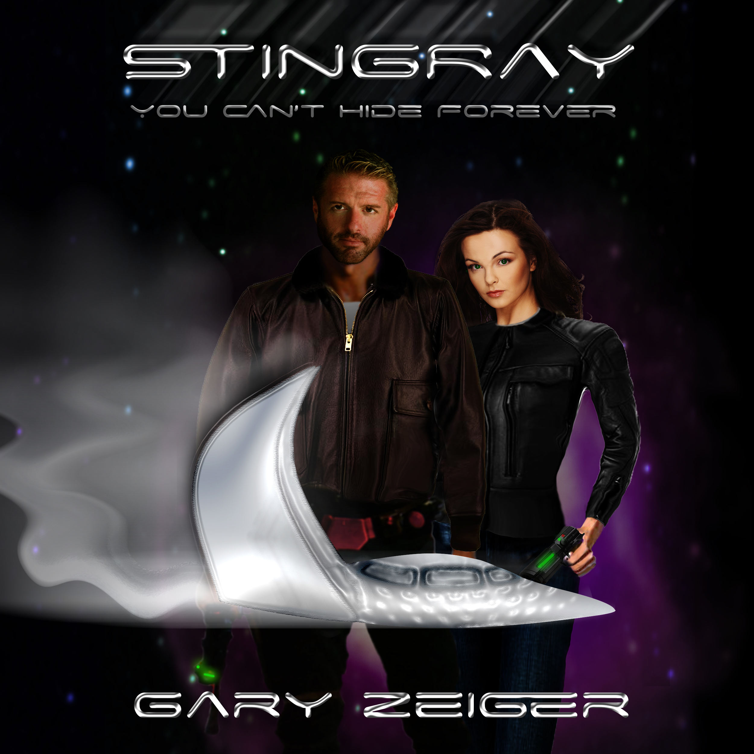 Printable Stingray: You Can't Hide Forever Audiobook Cover Art