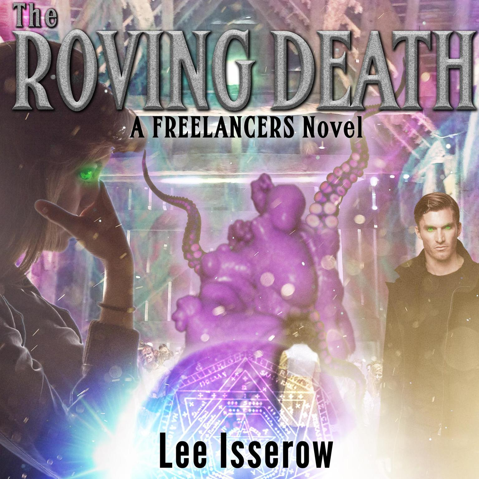 Printable The Roving Death Audiobook Cover Art