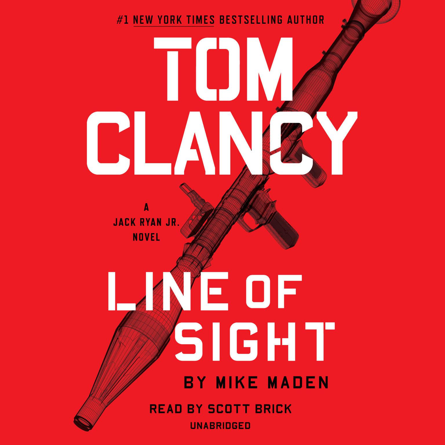 Printable Tom Clancy Line of Sight Audiobook Cover Art