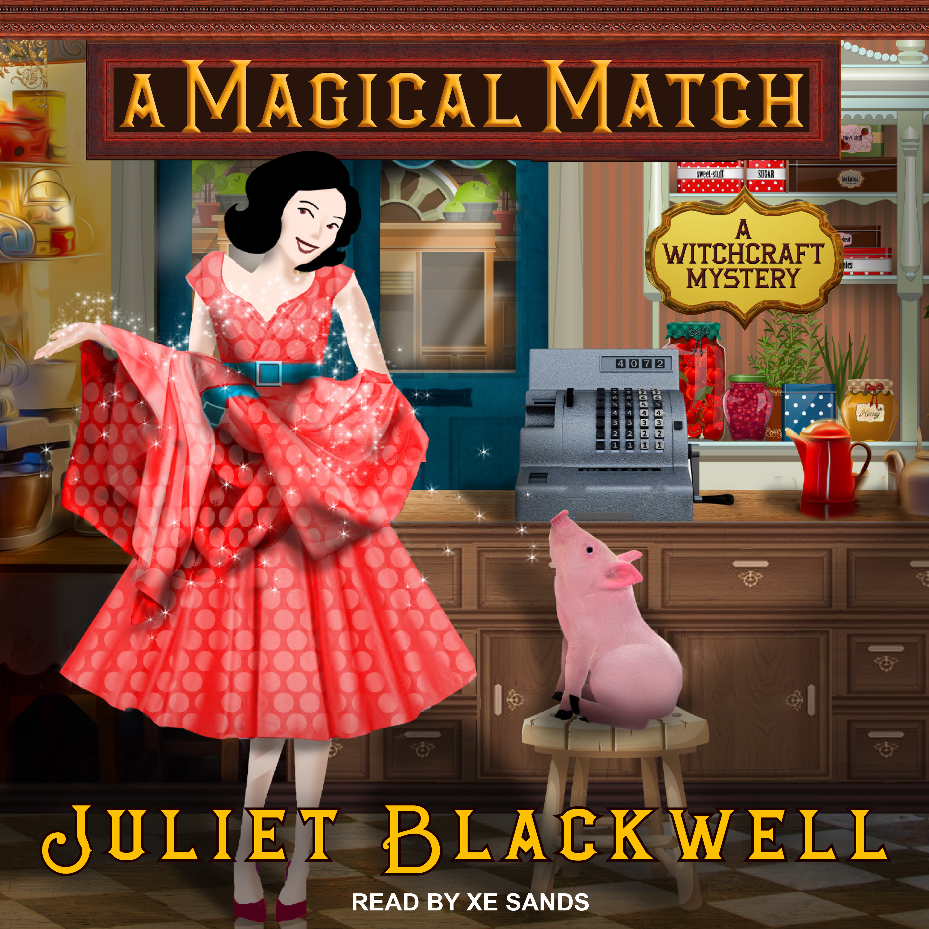 Printable A Magical Match Audiobook Cover Art