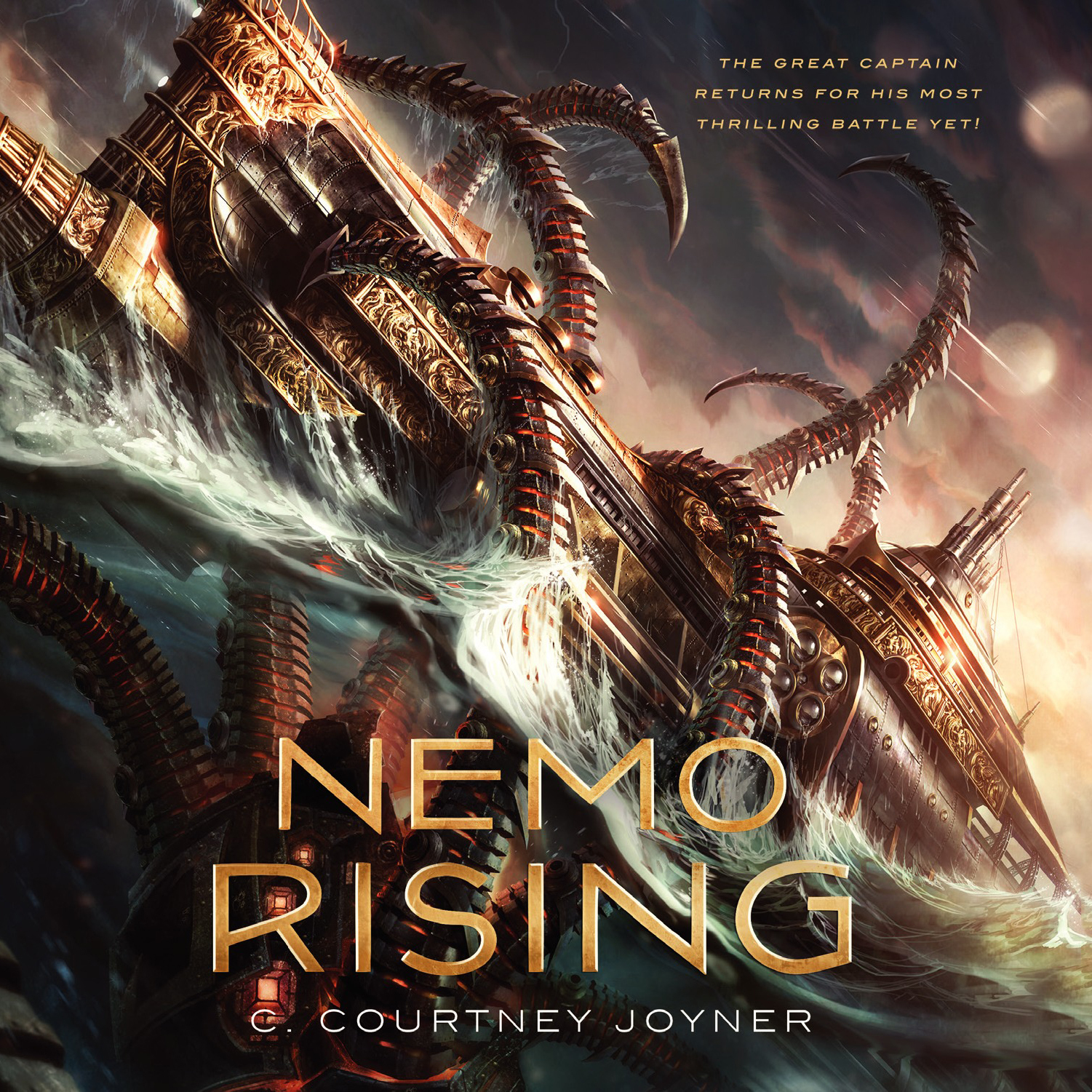 Printable Nemo Rising Audiobook Cover Art
