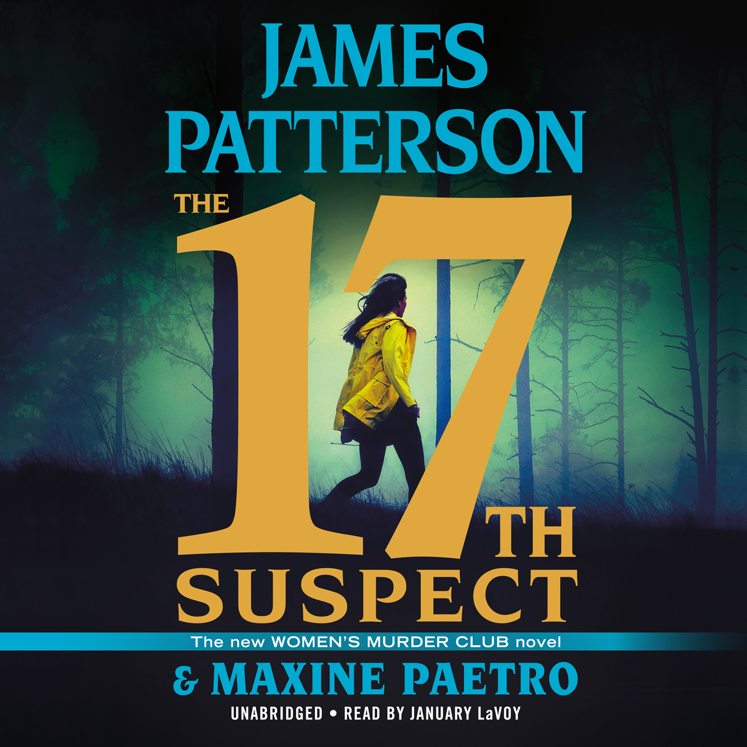 Printable The 17th Suspect Audiobook Cover Art