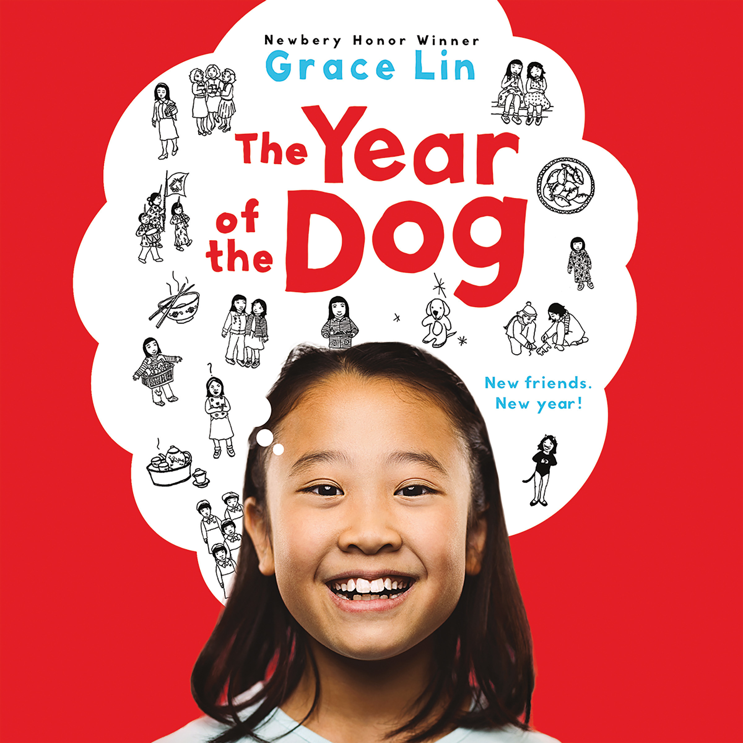 Printable The Year of the Dog Audiobook Cover Art