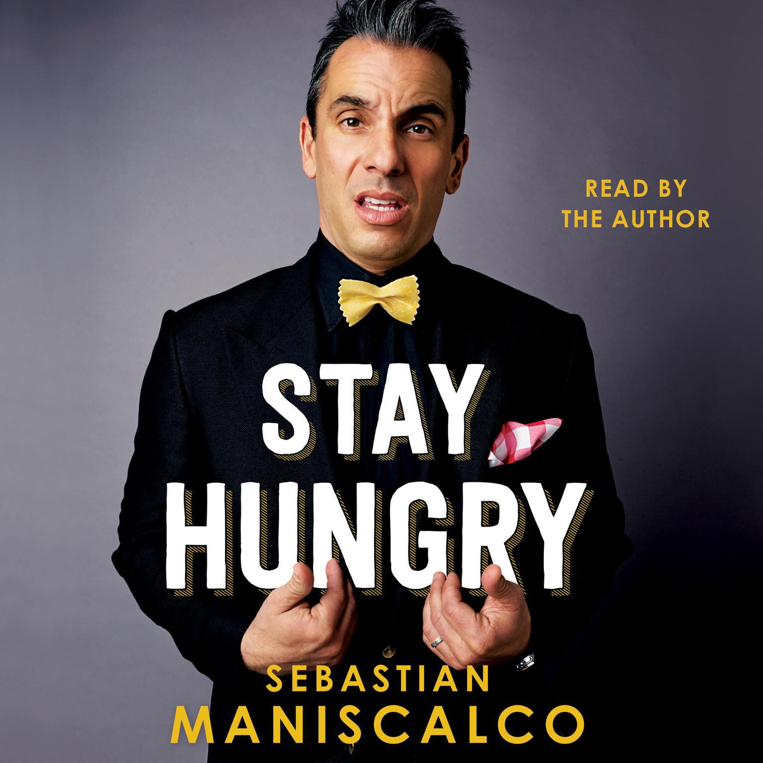 Printable Stay Hungry Audiobook Cover Art