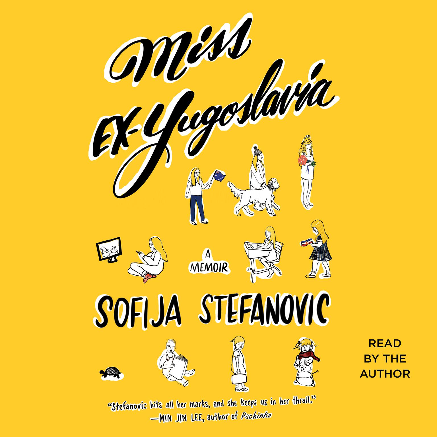 Printable Miss Ex-Yugoslavia: A Memoir Audiobook Cover Art