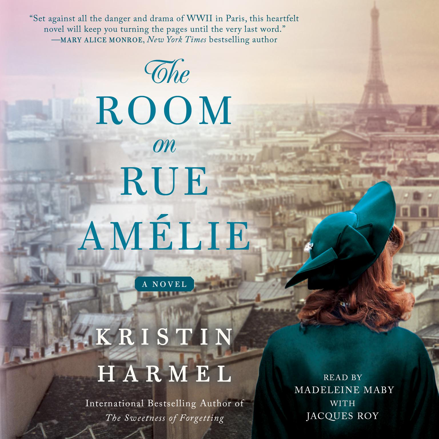 Printable The Room on Rue Amélie Audiobook Cover Art