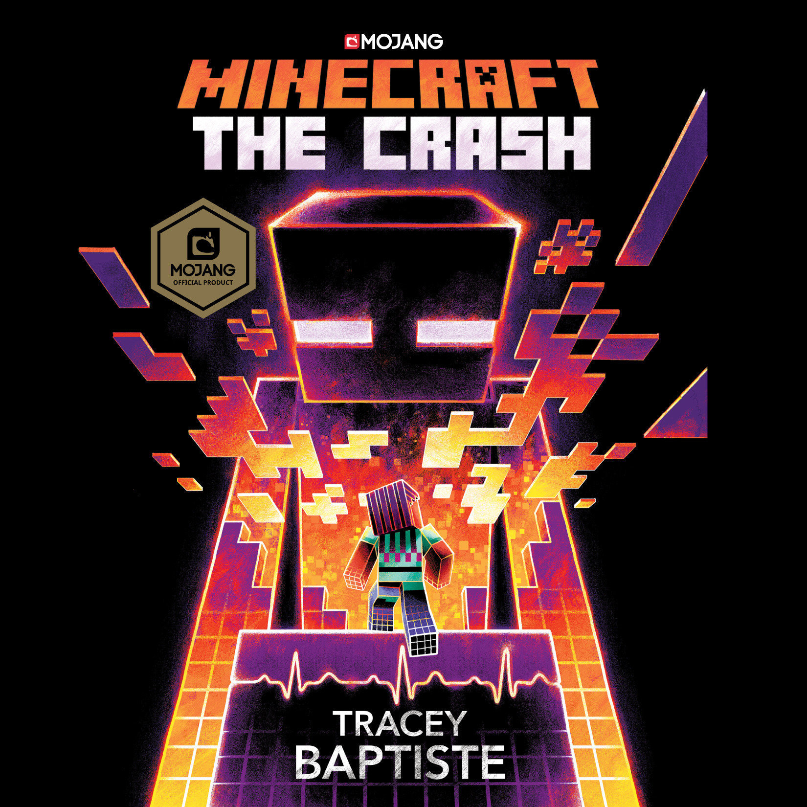 Printable Minecraft: The Crash: An Official Minecraft Novel Audiobook Cover Art