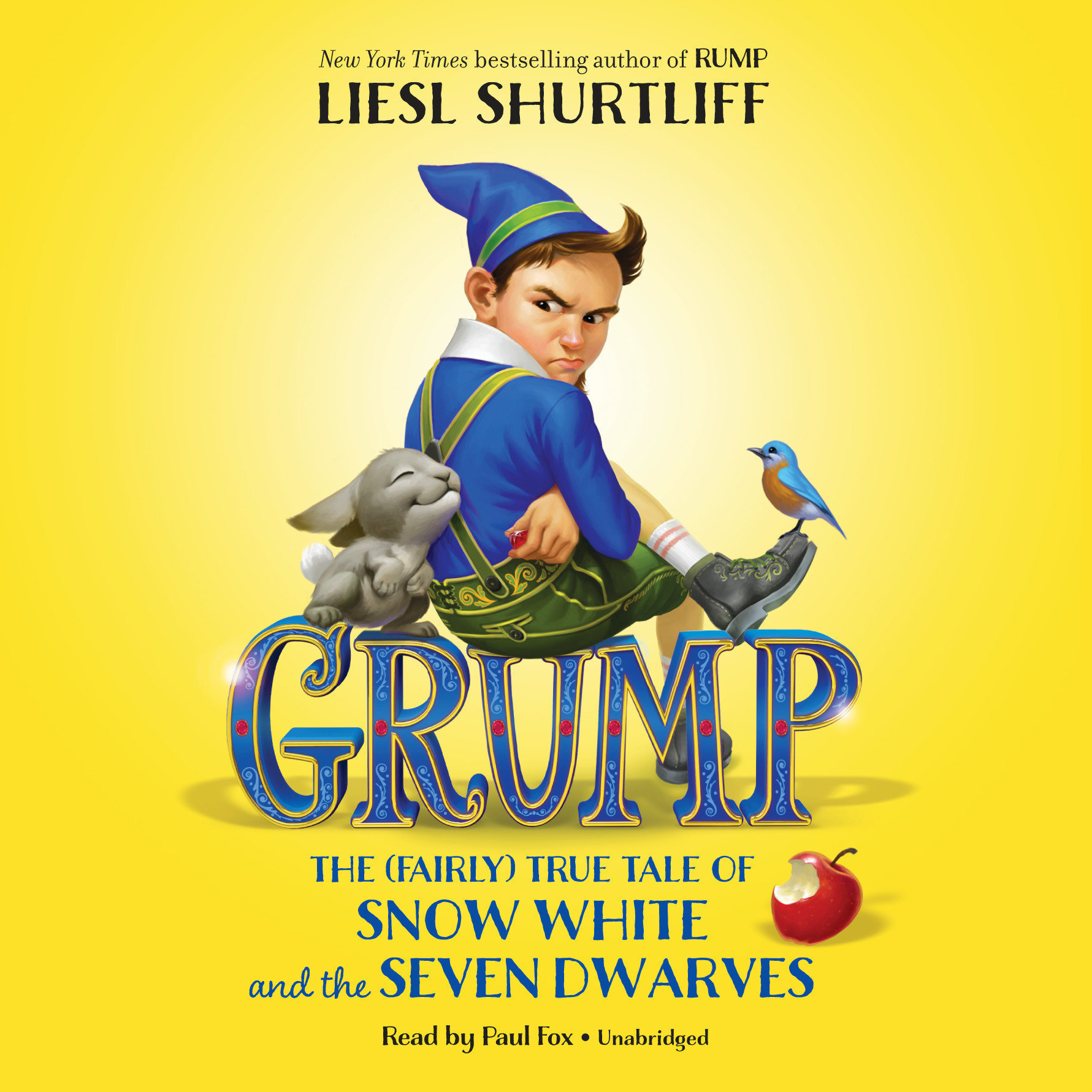 Printable Grump: The (Fairly) True Tale of Snow White and the Seven Dwarves: The (Fairly) True Tale of Snow White and the Seven Dwarves Audiobook Cover Art