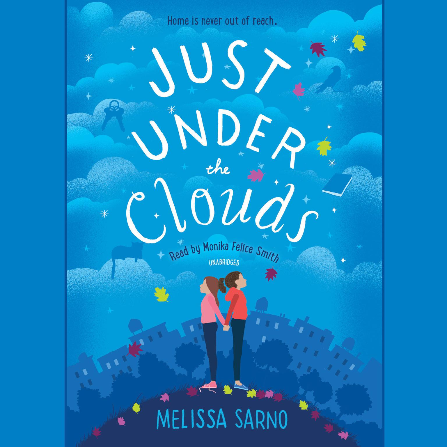 Printable Just Under the Clouds Audiobook Cover Art