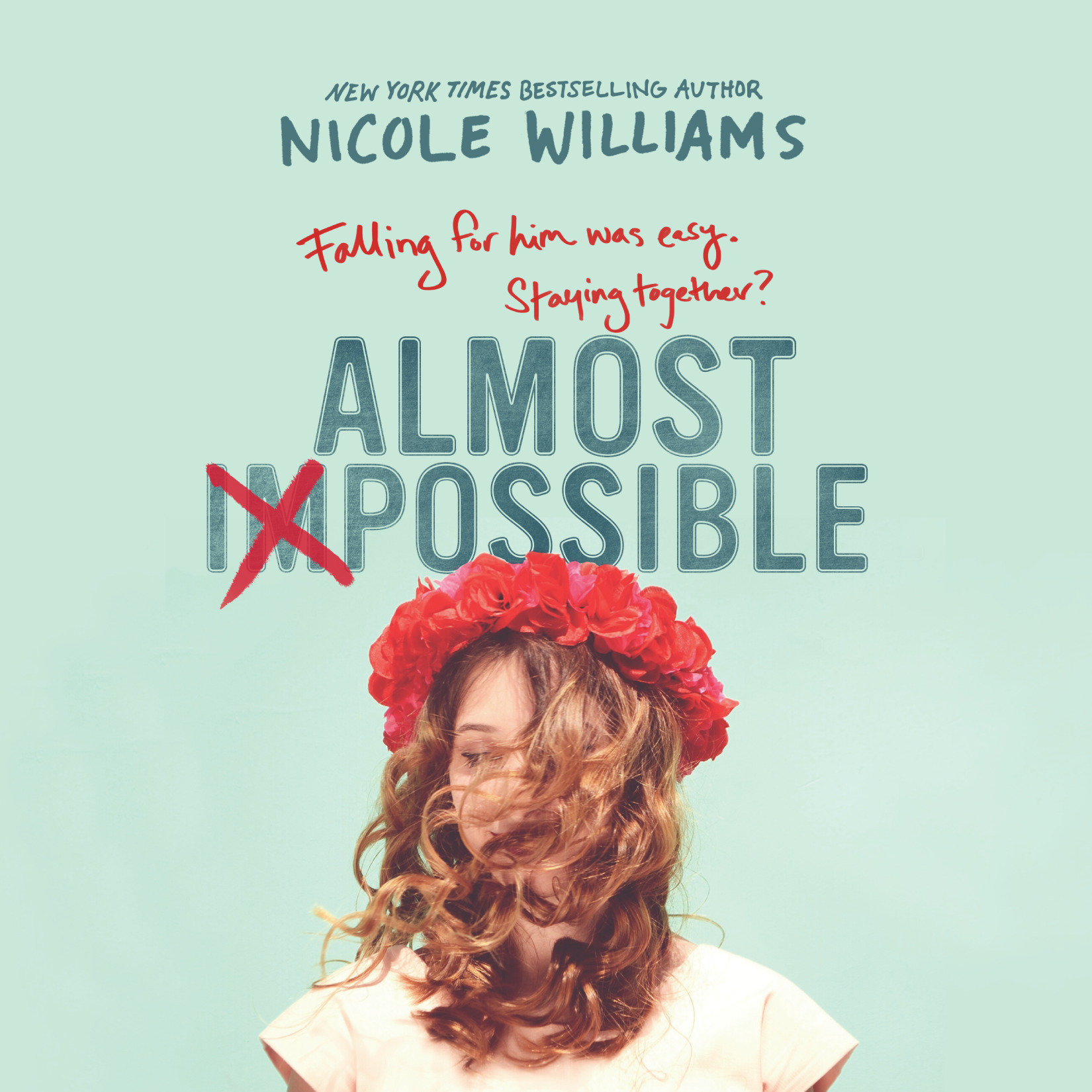 Printable Almost Impossible Audiobook Cover Art
