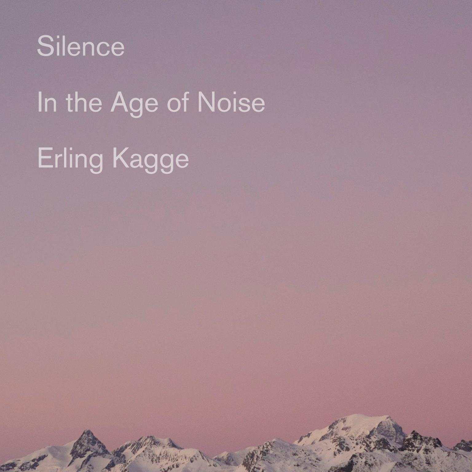 Printable Silence: In the Age of Noise Audiobook Cover Art