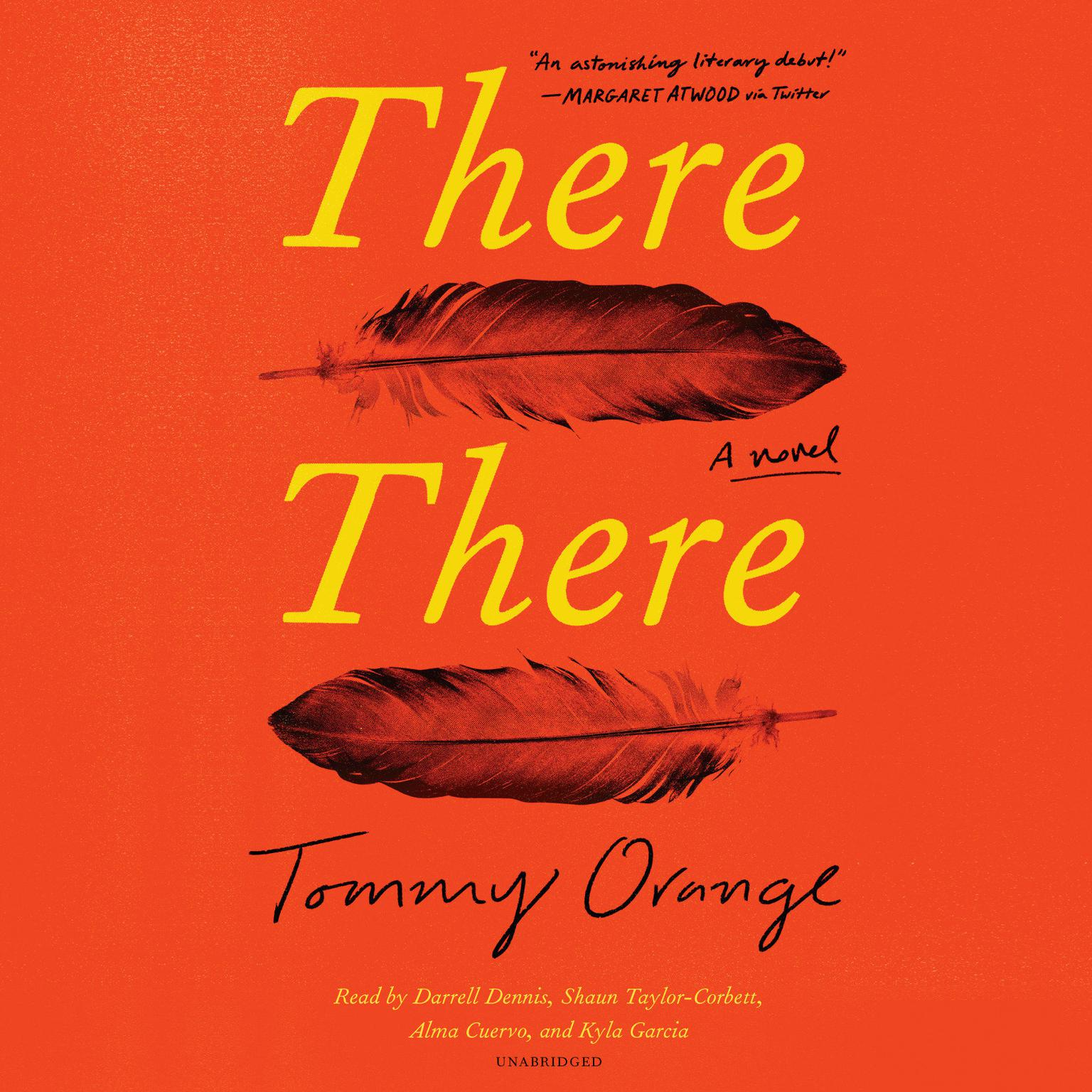 Printable There There: A novel Audiobook Cover Art
