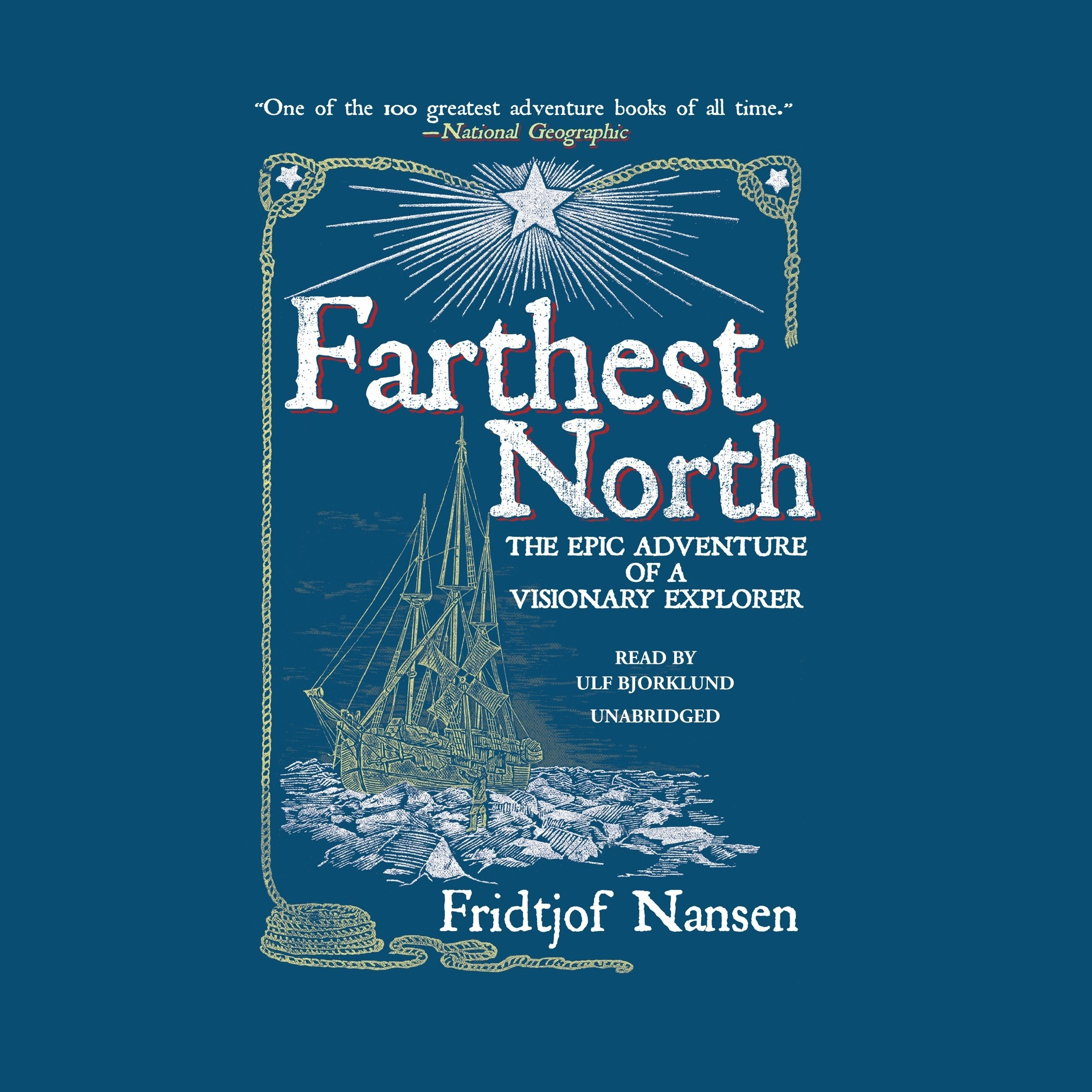 Printable Farthest North: The Norwegian Polar Expedition, 1893–1896 Audiobook Cover Art