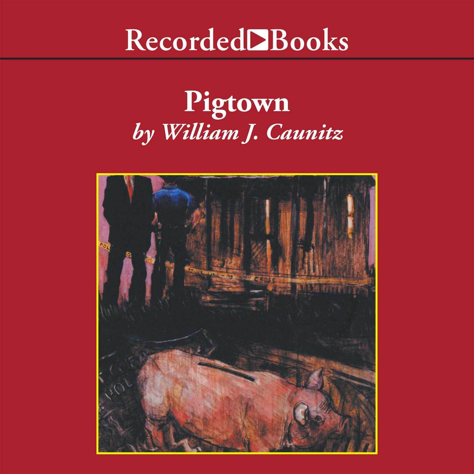 Printable Pigtown Audiobook Cover Art