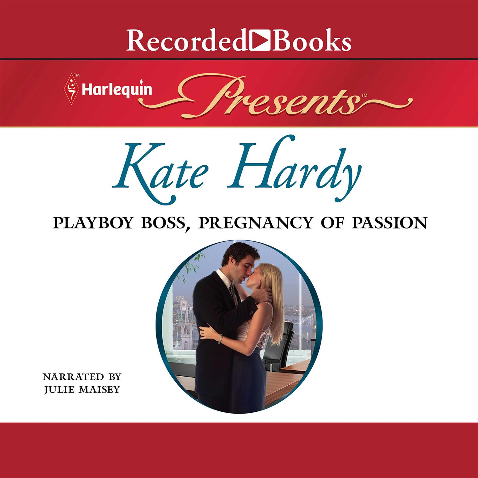 Printable Playboy Boss, Pregnancy of Passion Audiobook Cover Art