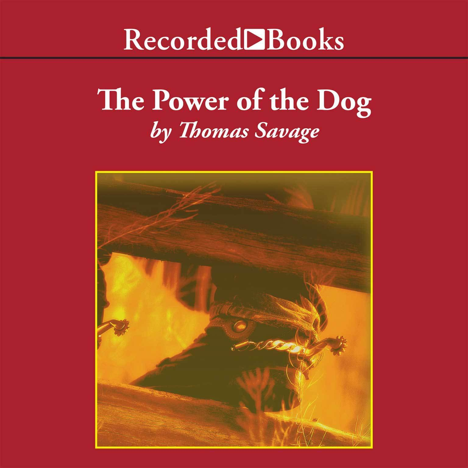 Printable The Power of the Dog: A Novel Audiobook Cover Art