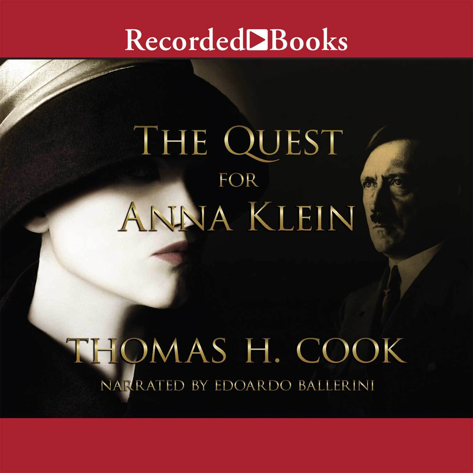 Printable The Quest for Anna Klein Audiobook Cover Art